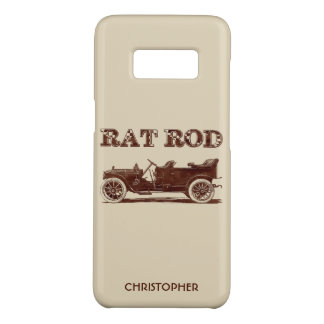 Retro Vintage Rat Rod Old School Cool Rusty Car Case-Mate Samsung Galaxy S8 Case