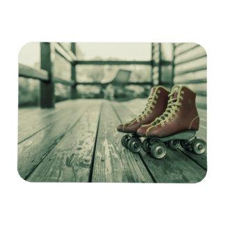 Retro Vintage Roller Skates Magnet