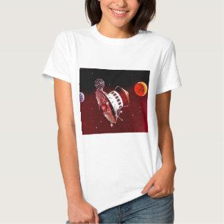 Retro Vintage Sci Fi 1967 Mars Lander T-shirt