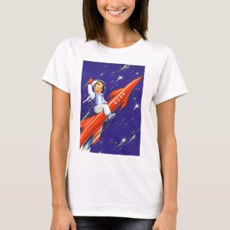 Retro Vintage Sci Fi 'Happy Little Cosmo' T-Shirt