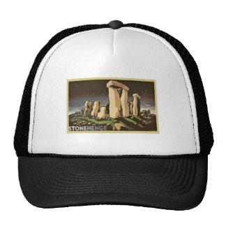 Retro Vintage Sci Fi History Stonehenge Mesh Hat