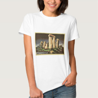 Retro Vintage Sci Fi History 'Stonehenge' Shirts