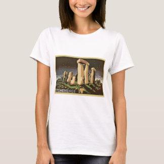 Retro Vintage Sci Fi History 'Stonehenge' T-Shirt