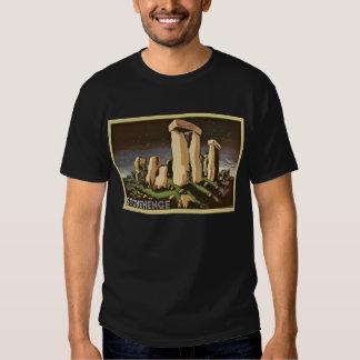 Retro Vintage Sci Fi History 'Stonehenge' Tshirt