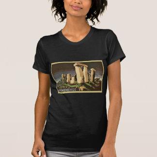 Retro Vintage Sci Fi History 'Stonehenge' T-shirts