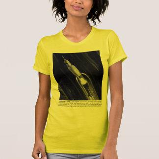 Retro Vintage Sci Fi NASA 'Saturn Rocket' T-Shirt