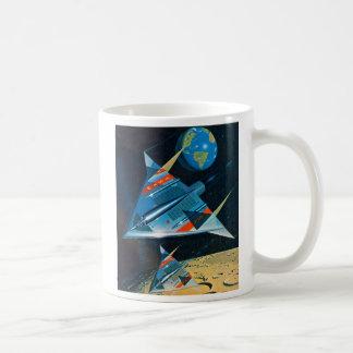 Retro Vintage Sci Fi Nasa Space Flight L-15 Mug