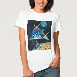 Retro Vintage Sci Fi Nasa Space Flight L-15 T Shirt