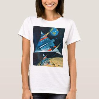 Retro Vintage Sci Fi Nasa Space Flight L-15 T-Shirt