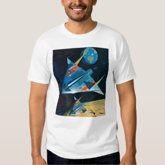 Retro Vintage Sci Fi Nasa Space Flight L-15 T-Shirt