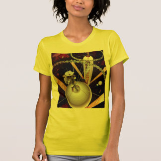 Retro Vintage Sci Fi 'Space Station Concept' T-Shirt