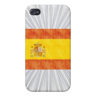 Retro Vintage Spain Flag iPhone 4/4S Cover