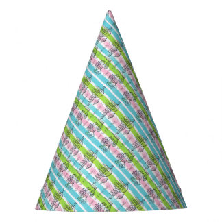 Retro/Vintage Teenage Party Invite Party Hat