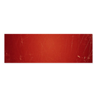 Retro Vintage Tomato Red Pattern. Fashion Color Business Card