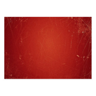 Retro Vintage Tomato Red Pattern. Fashion Color Business Card Templates