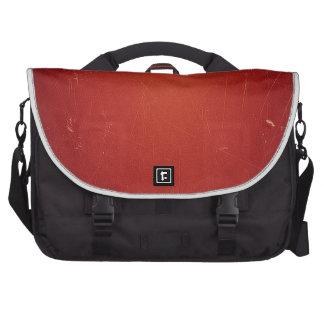 Retro Vintage Tomato Red Pattern Fashion Color Laptop Commuter Bag