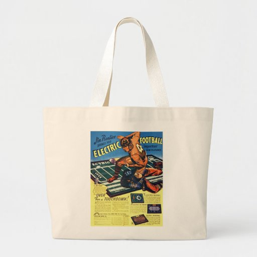 Retro Vintage Toy 'Electric Football Game' Tote Bag