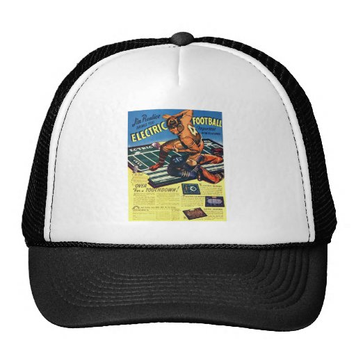 Retro Vintage Toy 'Electric Football Game' Trucker Hat