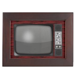 Retro Vintage TV Set Memory Boxes