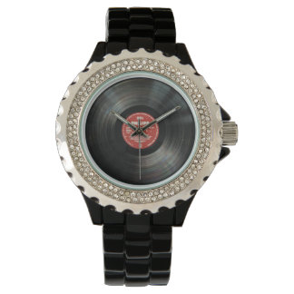 Retro Vintage Vinyl Record Watch - Jewelry & Gifts