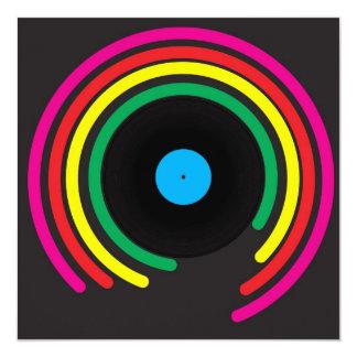 Retro Vinyl Card
