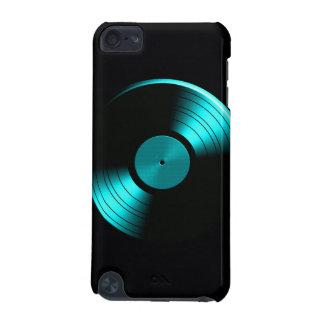Retro Vinyl Record Album in Teal iPod Touch 5G Case