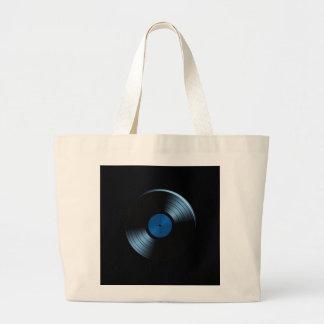 Retro Vinyl Record Album Jumbo Tote Bag