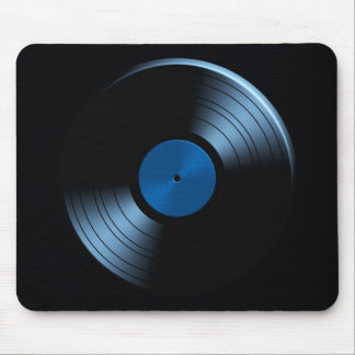 Retro Vinyl Record Album Mouse Pad