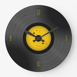 Retro Vinyl Record (Any Color) Wall Clock