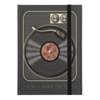 "Retro Vinyl Record Player iPad Pro 9.7"" Case"