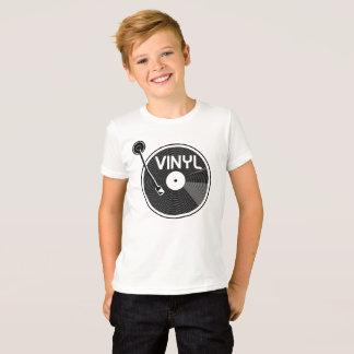 Retro Vinyl Record Turntable T-Shirt