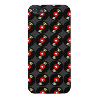 Retro Vinyl Records Iphone Case Customize iPhone 5 Cover