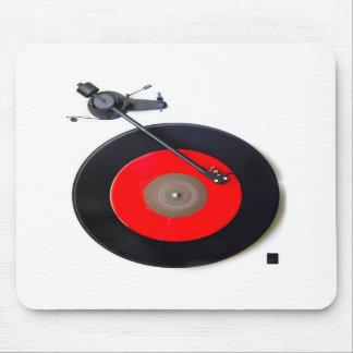 Retro Vinyl Turntable Mousepad Mousemat