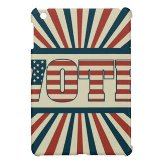 Retro vote, all gear iPad mini case