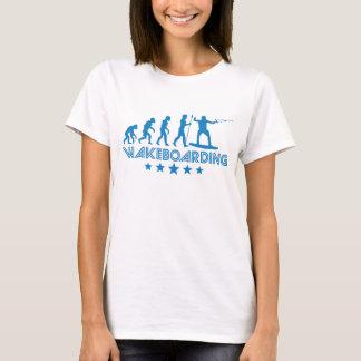 Retro Wakeboarding Evolution T-Shirt