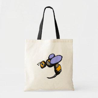 Retro Wasp Tote Bag