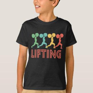 Retro Weightlifting Pop Art T-Shirt