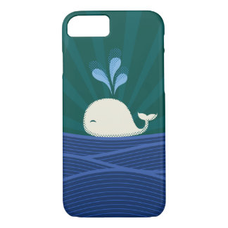 Retro Whale iPhone 8/7 Case