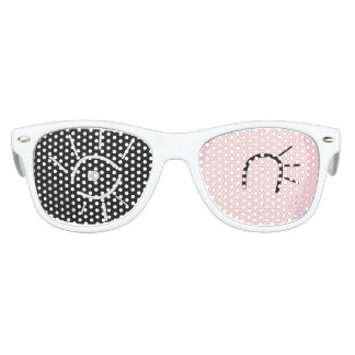 Retro Wink 80's Fashion Glasses