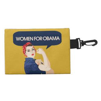 Retro Women for Obama Accessory Bag
