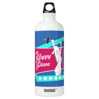 Retro Women's Gym Water Bottle SIGG Traveller 1.0L Water Bottle