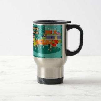 Retro Women's Weekly Card Game Travel Mug