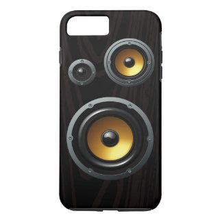 Retro Wood Grain Speaker Trio iPhone 7 Plus Case