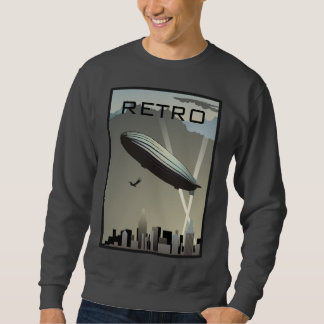 Retro Zeppelin Skyline Sweatshirt