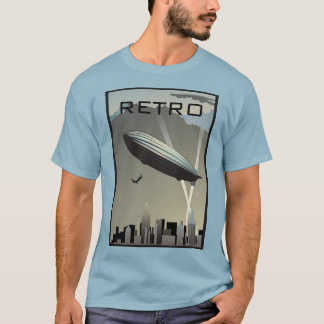 Retro Zeppelin Skyline T-Shirt