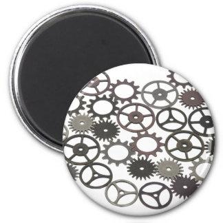 RetroGears031910 6 Cm Round Magnet