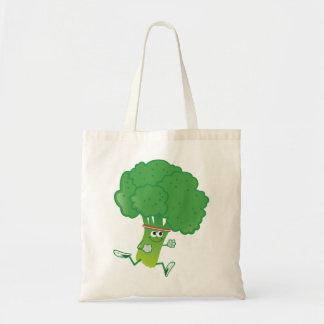 Retron Running Broccoli Tote Bag