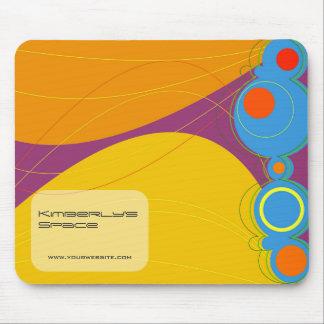 Retronation 01 Yellow Designer Custom Mousepad