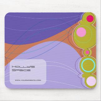 Retronation 02 Purple Designer Custom Mousepad