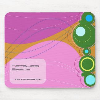 Retronation 03 Pink Designer Custom Mousepad